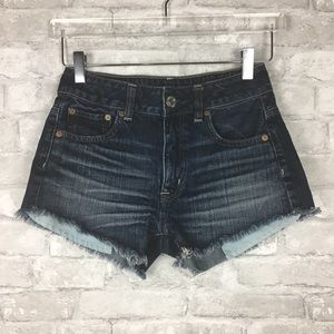 AEO Hi-Rise Festival Denim Shorts